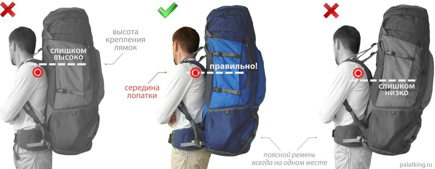 Как настроить рюкзак рюкзак кондор 95 v2