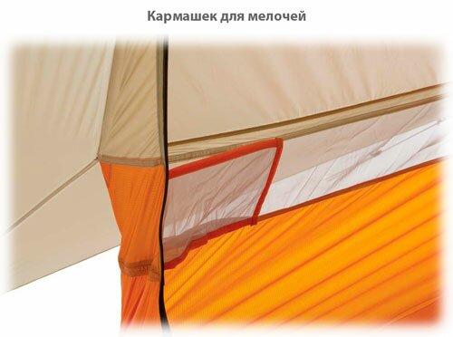 Кармашек на стенке палатки