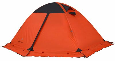 Палатка с штормовой юбкой