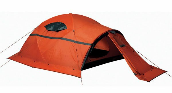Пример экстремальной или горной палатки