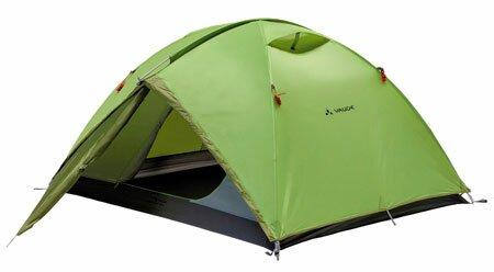 Пример обычной туристической палатки